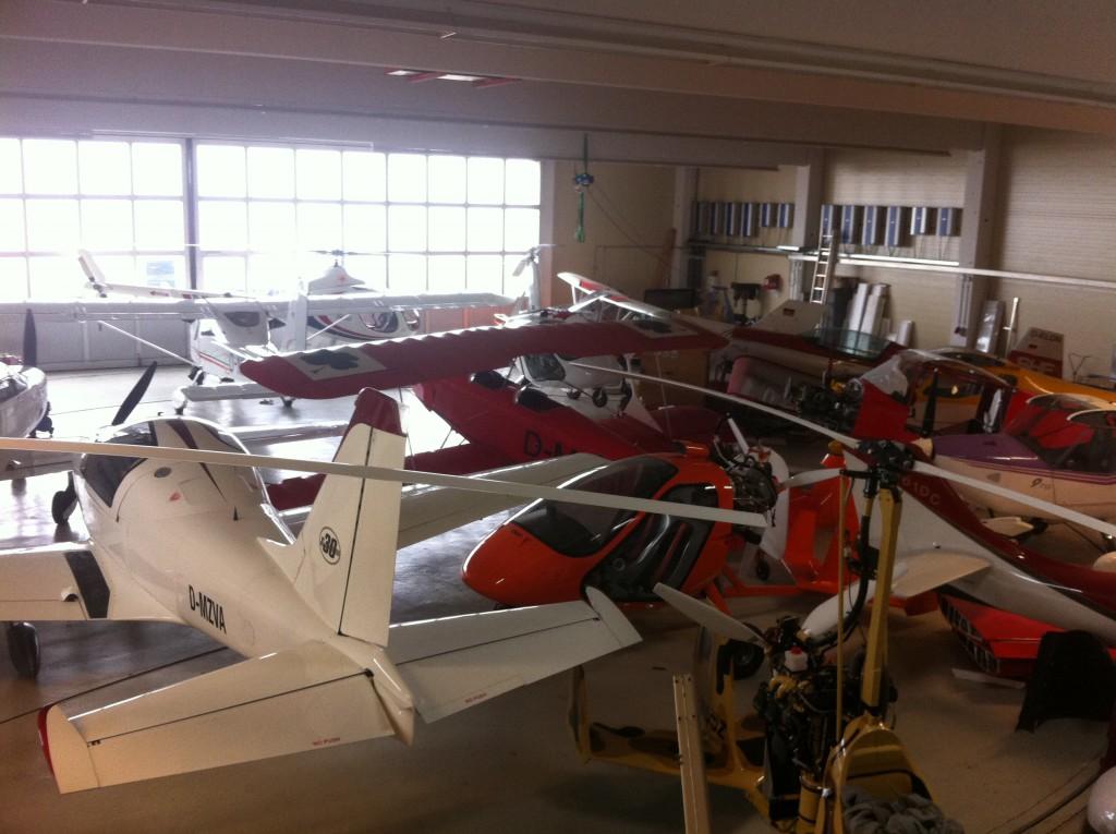 Flugschule Lorenzen Werkstatt